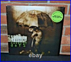 STABBING WESTWARD Darkest Days, Ltd 1st Press 180G 2LP GREEN HAZE VINYL New