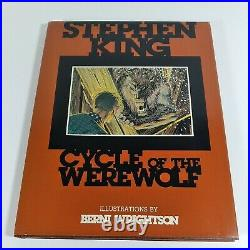 Stephen King Cycle of the Werewolf 1983 1st Ed. Illustrated by Berni Wrightson