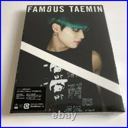 TAEMIN FAMOUS (First Limited Edition A) digipack CD+PHOTOBOOK 60P