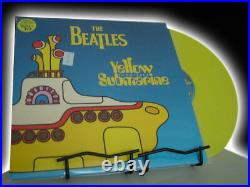 THE BEATLES YELLOW VINYL SUBMARINE 1ST EDITION 1999 COMPLETE Limited EDITION LP