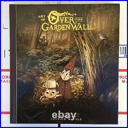 The Art Of Over The Garden Wall 7 SIGNATURES 1st Edition Limited Edition RARE