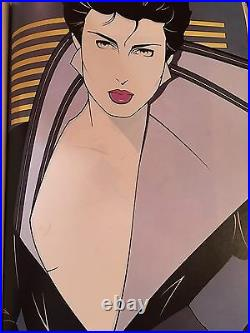 The Art of Patrick Nagel (1985 Hardcover) Sealed Item 1st Edition. VERY RARE