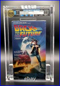VHS Back to the Future 1986 MCA IGS 7.0-8.5 EX MINT First Release! Great Scott