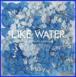 WENDYRED VELVET 1st EP Album LIKE WATER 300pcs Limited Edition (Sealed)+two