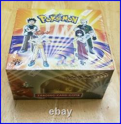 WOTC Pokemon Gym Heroes 1st Edition Booster Box Factory Sealed Perfect! NEW